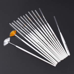 15 PCS Nail art pen and brushes for design & painting