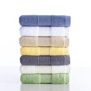 7 Colors  High Quality Softness Towel Set 100% Cotton Spot Supply