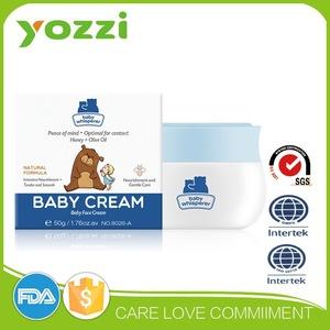 Baby Skin Cream, GMPC and ISO227 certificates, SGStesting report