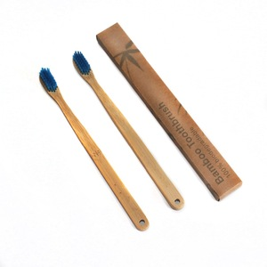 Bamboo charcoal Toothbrush with Pack of 4 Eco Friendly