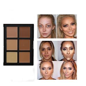 Best Price 6 color concealer palette contour make up palette wholesale concealer