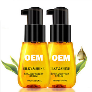 Best Pure Organic Hair oil care product hair Growth oil for women  Hair Strengthening and Straightening Oil Packaging bottles