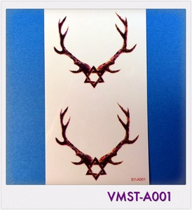 Cosmetic Grade High Quality New Temporary Tattoo Sticker