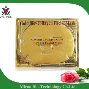 Customer advised 24k gold collagen face & body mask
