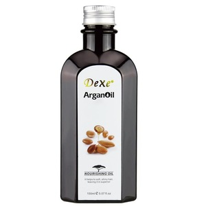 Dexe Protein argan serum oil for fragile hair treatment