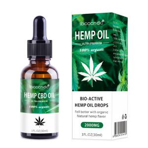 Ibcccndc 100% Organic Shoulder Waist Pain Release Hemp CBD Ultra Premium Massage Oil