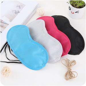 Manufactory wholesale custom cotton sleeping eye mask .