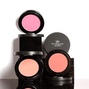 OEM 2020 New arrivals Private Label face makeup single color blush palette Wholesale long lasting waterproof pink blush
