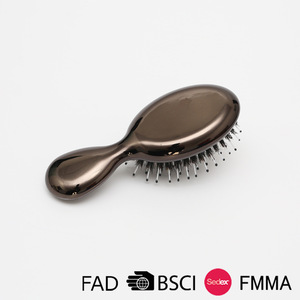 Small Brown Princess Massage Hair Brush/Fashion Comb For Promotion