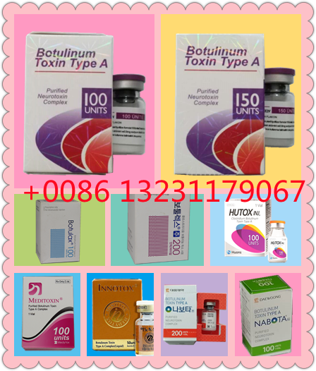 Type a B0toxs 100iu 150iu Botlinm Toxin Innotox Nabota Botulax Meditoxin Botox′ S
