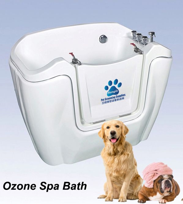 Walk in Bathtub for large dog,pet spa dog bathtubs from China factory