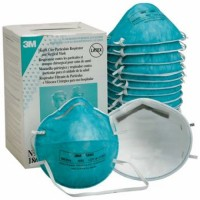 3M 1860 N95 Face Mask Health Care Particulate Respirator and Surgical Mask