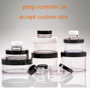 30g 50g 100g 200g 240g 300g petg cream jar cosmetic packaging jar,petg jar