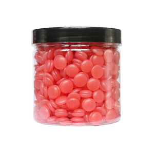 BeauTome painless natural depilatory hard wax beans hair removal hard wax beans pearl wax
