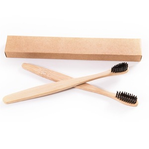 Customize Wholesale Wooden Bamboo Charcoal Toothbrush Factory Supplier
