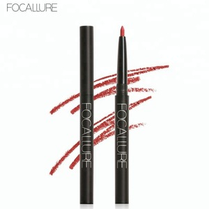 Focallure High Quality Daily Use Smoothly Matte Multi-Colored Plastic Material Lip Pencil Liner