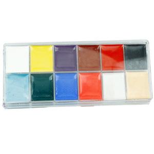 Hot sale face painting supplies wholesale Body paint Non-toxic body paint 12 colors