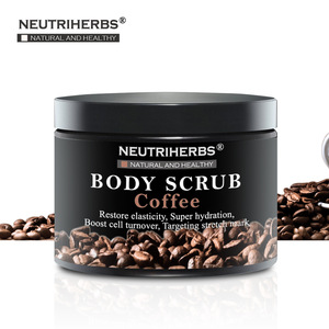 Neutriherbs Organic Arabica Coffee Body Scrub Exfoliating Body Skin Care Product