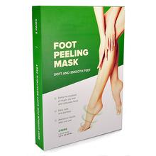 OEM /ODM Braphy Callus Remover Dead Skin Cuticles Heel Exfoliating 7 Days Health Purederm Feet Mask Baby Foot Peel Mask