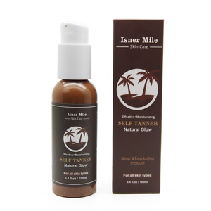 OEM/ODM Natural Glow Self Tanner Sunless Protect Tanning Lotion For Body