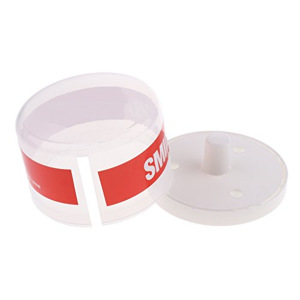 Portable  Container Plastic  Box for Salon Neck Strip Paper Roll holder case