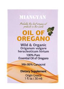 Private label 100% pure oregano oil with 90% carvacrol pharmaceutical grade