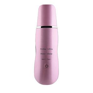 Professional Portable Sonic Skin Scrubber Facial Machine Skin Cleaner Ultrasonic Skin Scrubber