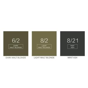 Professional Salon Hair Color Cream Green Malt Blond hair dye