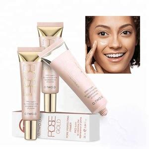 Rose Gold Pore Perfecting Face Primer Makeup Cream  Foundation Primer Makeup Base