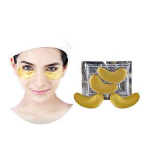 Sleep Gel Custom 24k Gold Under Patch Sheet Hydrogel Treatment Dark Circle Organic Pads Crystal Collagen Eye Mask