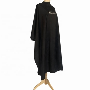 Wholesale cheap professional beauty salon hair barber cape with logo