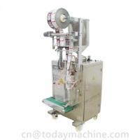 Automatic 200ml small plastic bag liquid packing and filling machine