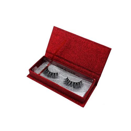 Wholesale Mink 6D Real Mink Fur Strip 100% Real Mink Eyelash