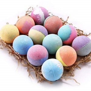 100% natural Private Label Stress Relief Exfoliating Fragrances bath bomb within toys for Kids