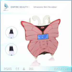 2017 New Ultrasonic Skin Peeing Skin Scrubber Facial Beauty Machine