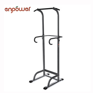 Adjustable Indoor Home Chin Up Machine power tower gym equipment