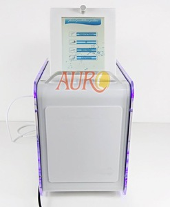 Au-S585 Multi-polar RF Bubble and Ultrasonic Handle Beauty Machine No-Needle Mesotherapy Device