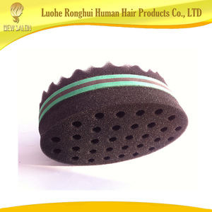Best selling barber hair sponge/magic double side hair sponge/hair roller