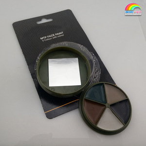 Body Painting Supplies dark color faced camouflage paint