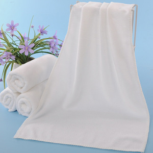 China Supply 100 cotton bath hotel towel hotel towel sets white