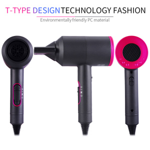 Dropshipping Strong Hot Air Brush Straightening Cold Wind Negative Ionic Hammer Blower Dry Electric Professional Buy Hair Dryer