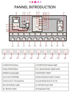 Electro Stimulation Machine / EMS Electrostimulation / Beauty Spa Slimming Equipment