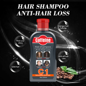 Factory manufacturer  natural plant coffeine nourishing anit hair loss shampoo for hair growth