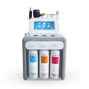 Factory sale 6 in 1 hydro dermabrasion machine for skin care /aqua dermabrasion machine /microdermabrasion machine crystal