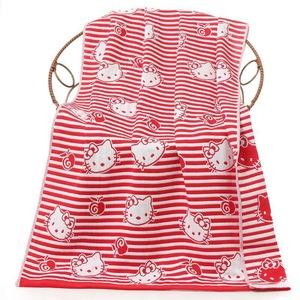 Factory supply 100% cotton kids bath towel three layers gauze bath towel