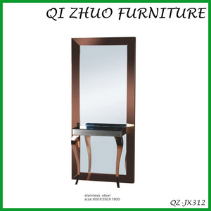 Hair beauty mirror station /styling station mirros QZ-JX312