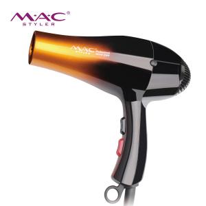 MAC Hair Dryer 2000w 110V/220V Hairdryer Hair Blow Dryer Fast Straight Hot Air Styler 3 Heat setting 2 speed & one Setting