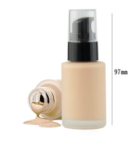 OEM Vegan Organic High Quality Natural Primer Cover Makeup Liquid Foundation