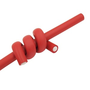 Plastic Caps Cold Temperature Twist-flex Rods Type PE Hair Rollers