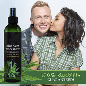 Private Label Organic Aloe Vera Aftershave For Men